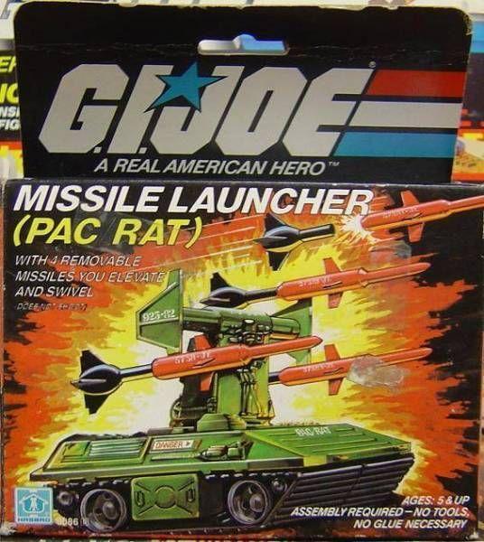 G.I.JOE - 1983 - Missile Launcher PAC/RAT