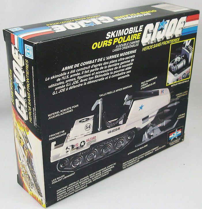 G.I.JOE - 1983 - Polar Battle Bear (Skimobile Ours Polaire)