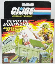 G.I.JOE - 1984 - Ammo Dump Unit (Dépot de munitions)