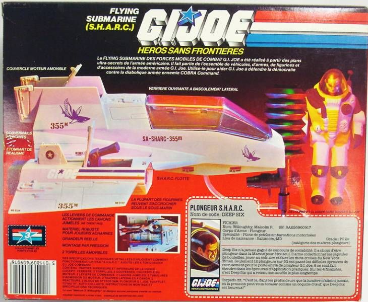 G.I.JOE - 1984 - Flying Submarine S.H.A.R.C.