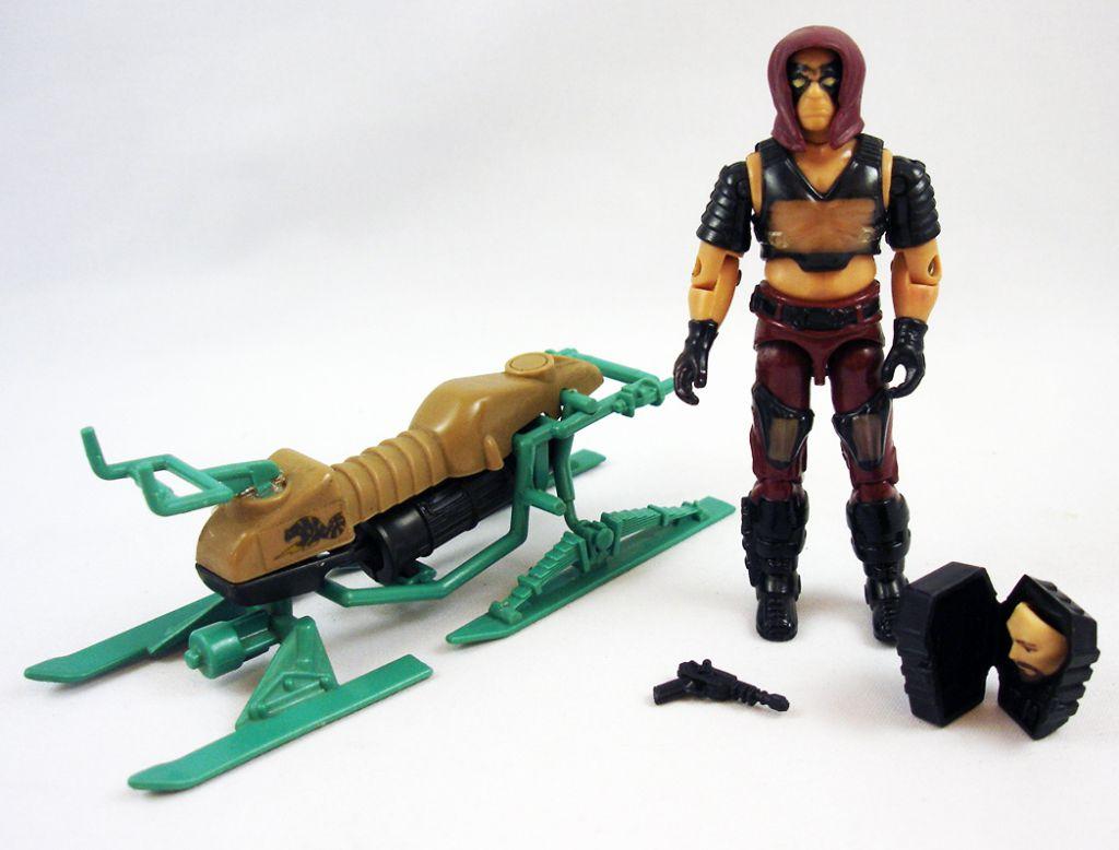 G.I.JOE - 1984 - Swamp Skier Chameleon & Zartan (loose)