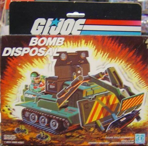 G.I.JOE - 1985 - Bomb Disposal