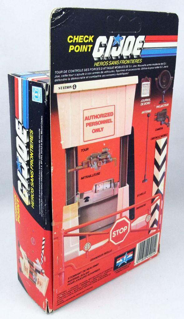 G.I.JOE - 1985 - Check Point Battle Station