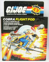 "G.I.JOE - 1985 - Cobra Flight Pod ""Trubble Bubble\"""