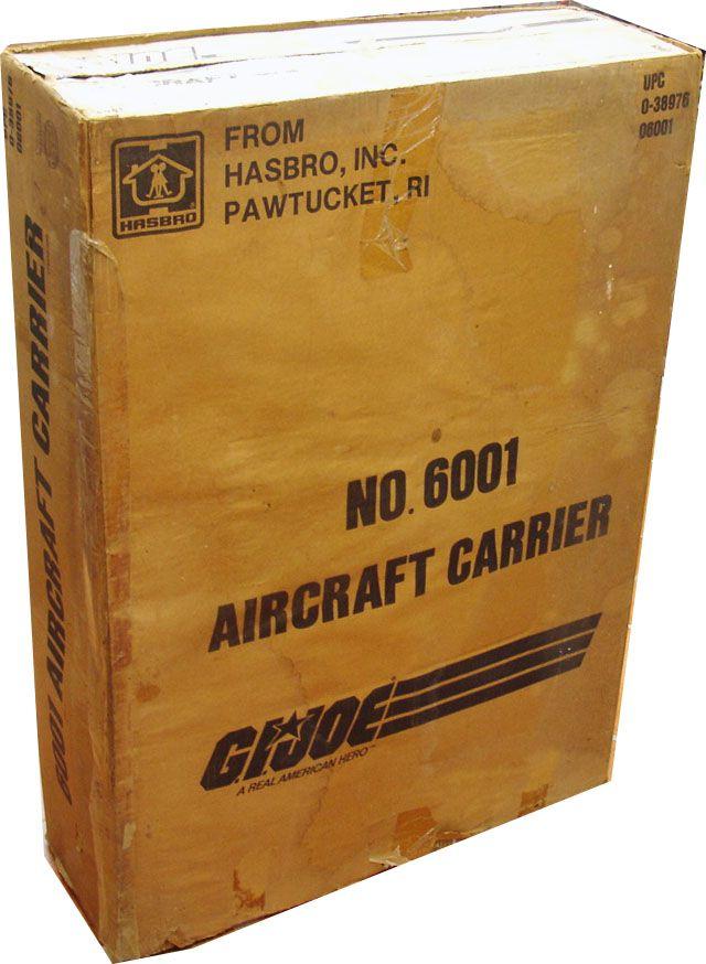 G.I.JOE - 1985 - Porte-avions Aircraft Carrier U.S.S. Flagg