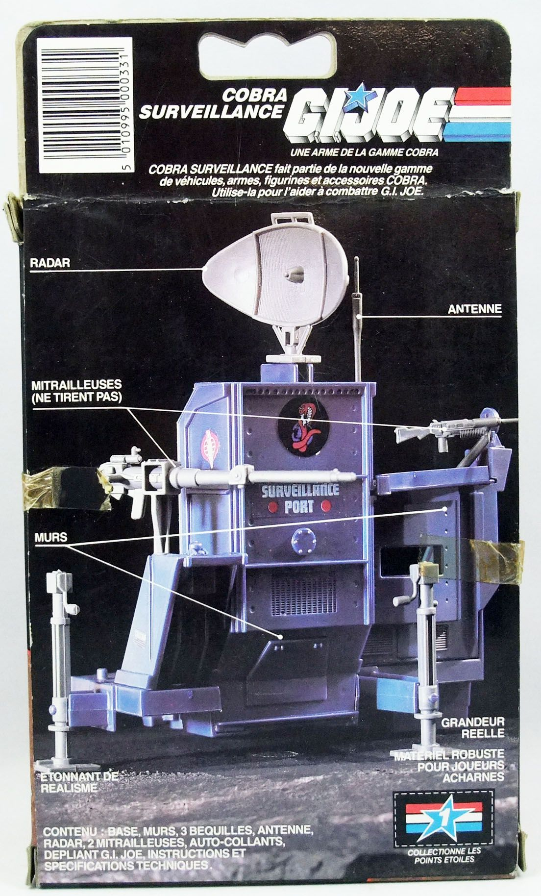 G.I.JOE - 1986 - Cobra Surveillance Port