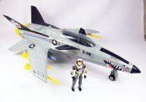 G.I.JOE - 1986 - Conquest X-30 & Slip Stream (loose)