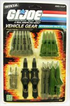 G.I.JOE - 1986 - Vehicle Gear Accessory Pack #1