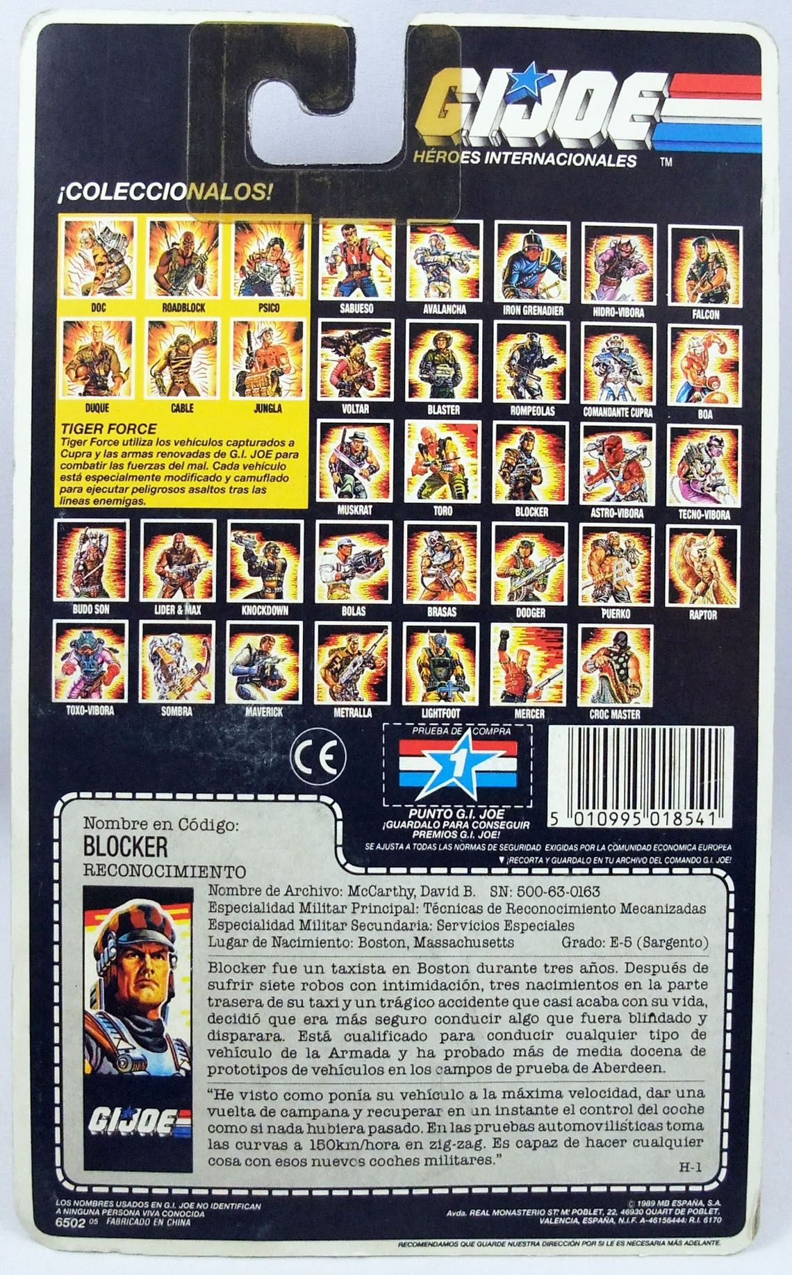 G.I.JOE - 1987 - Blocker