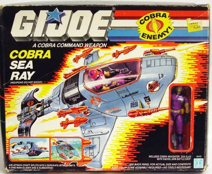 G.I.JOE - 1987 - Cobra Sea Ray