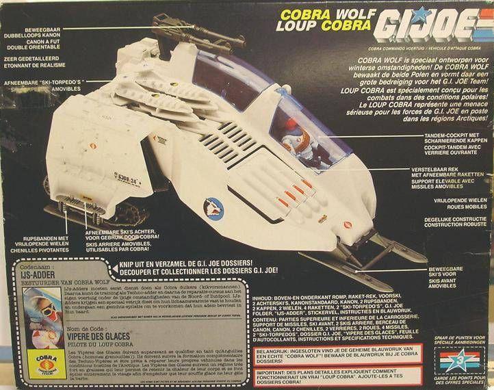 G.I.JOE - 1987 - Cobra W.O.L.F.