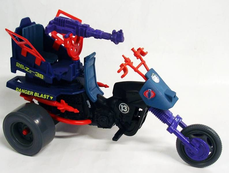 G.I.JOE - 1987 - Dreadnok Cycle