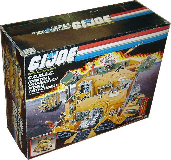 G I Joe 1987 Mobile Command Center