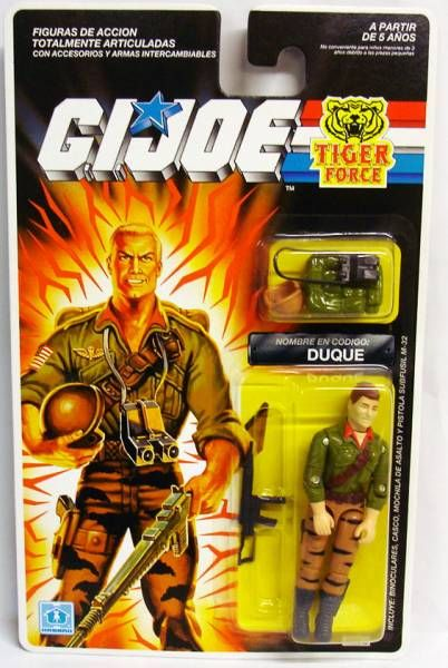 G.I.JOE - 1988 - Duke Tiger Force