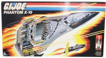 G.I.JOE - 1988 - Phantom X-19 Stealth Fighter (X-19 L\'Invisible)