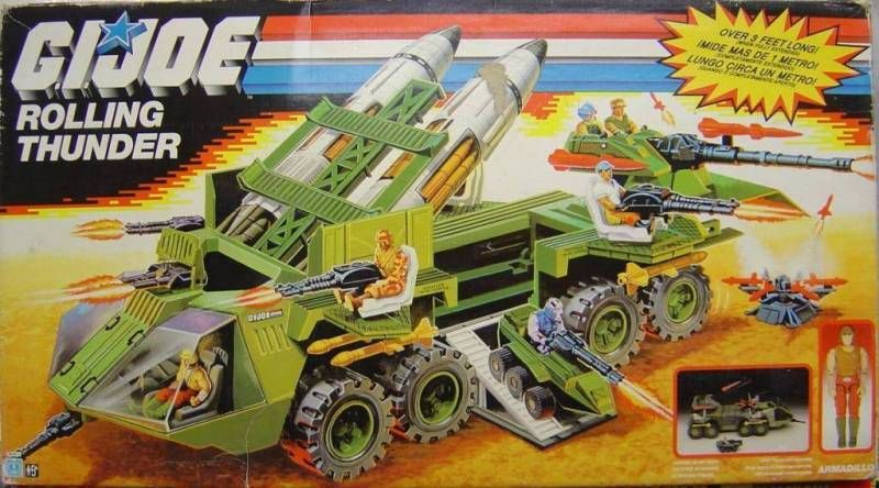 G.I.JOE - 1988 - Rolling Thunder