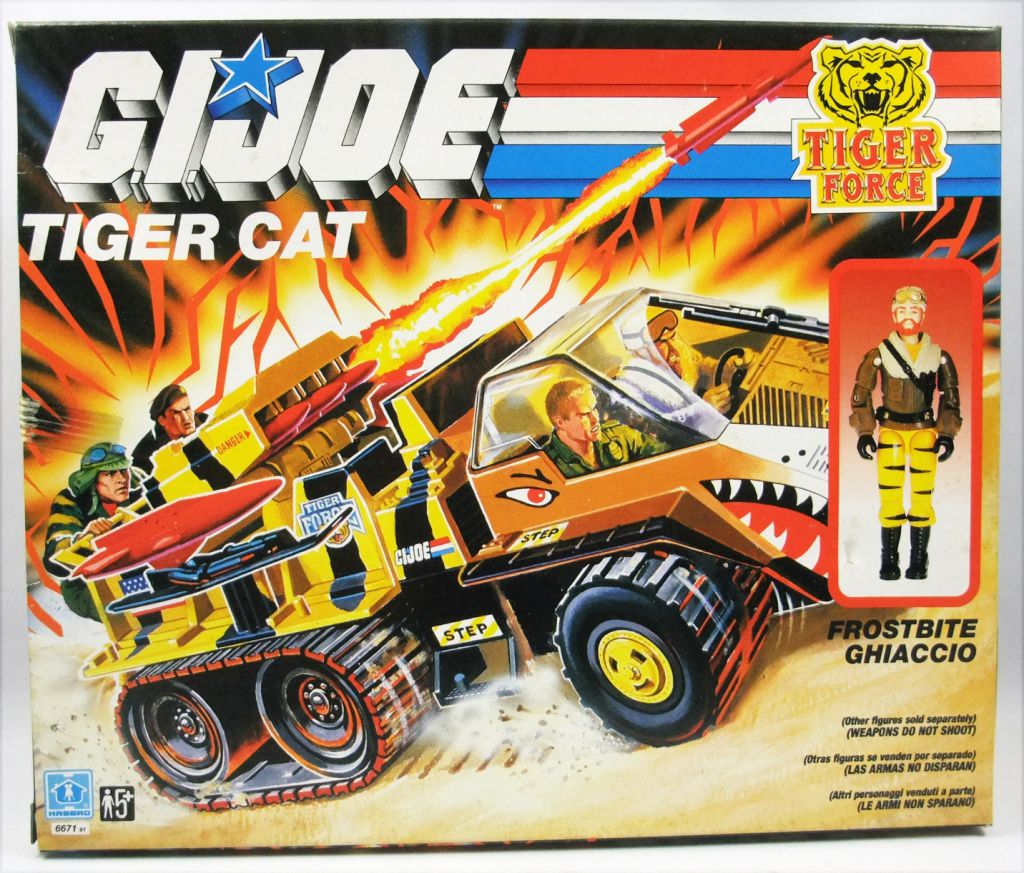 G.I.JOE - 1988 - Tiger Cat