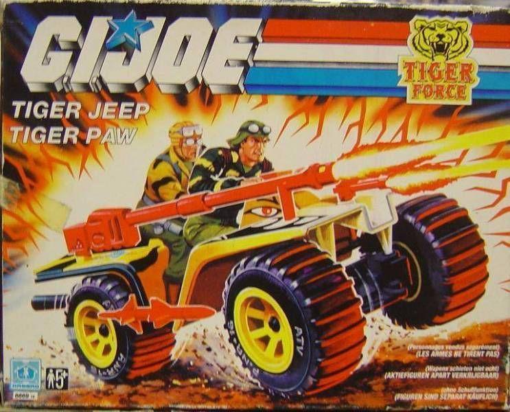 G.I.JOE - 1988 - Tiger P.A.W.