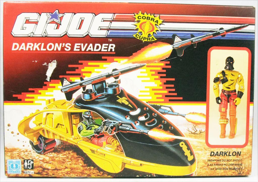 G.I.JOE - 1989 - Darklon\'s Evader (Fugitif)