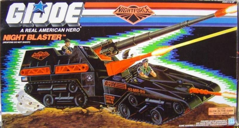 G.I.JOE - 1989 - Night Blaster