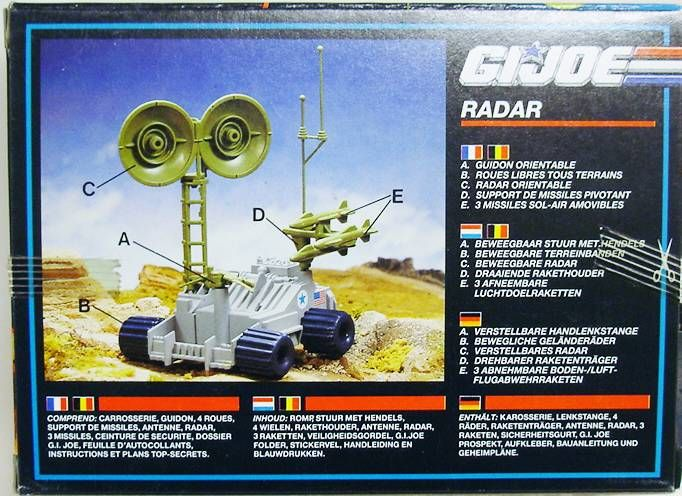G.I.JOE - 1989 - Radar Rat