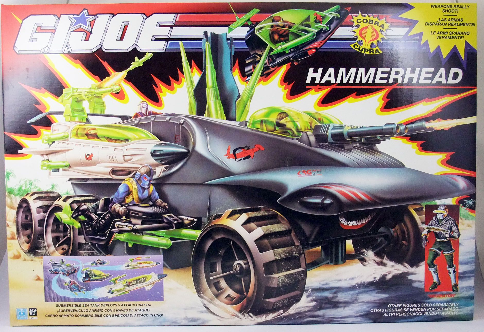 G.I.JOE - 1990 - Cobra Hammerhead