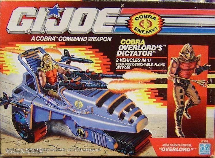 G.I.JOE - 1990 - Cobra Overlord\'s Dictator