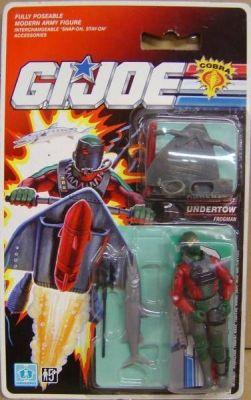 G I Joe UNDERTOW/'s SLED 1990