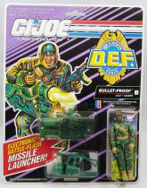 "G.I.JOE - 1992 - Bullet-Proof ""D.E.F. Drug Elimination Force\"""