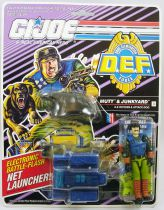 "G.I.JOE - 1992 - Mutt & Junkyard ""D.E.F. Drug Elimination Force\"""