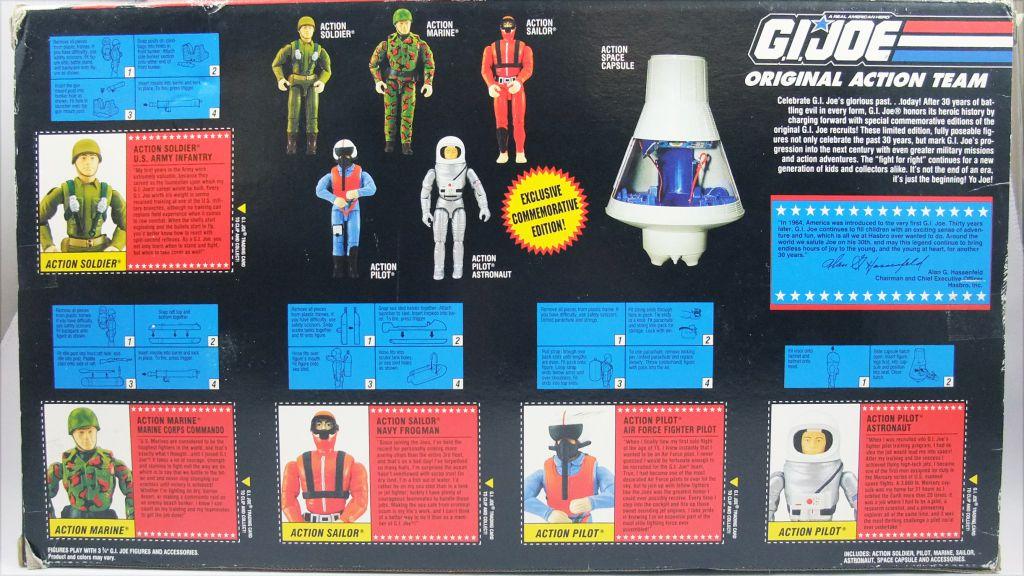 "G.I.JOE - 1994 - Original Action Team \""Commemorative Collection\"""