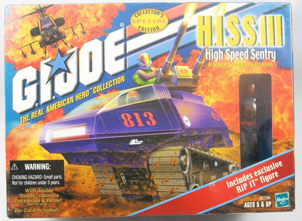 G.I.JOE - 2000- Cobra H.I.S.S. III & Rip-It