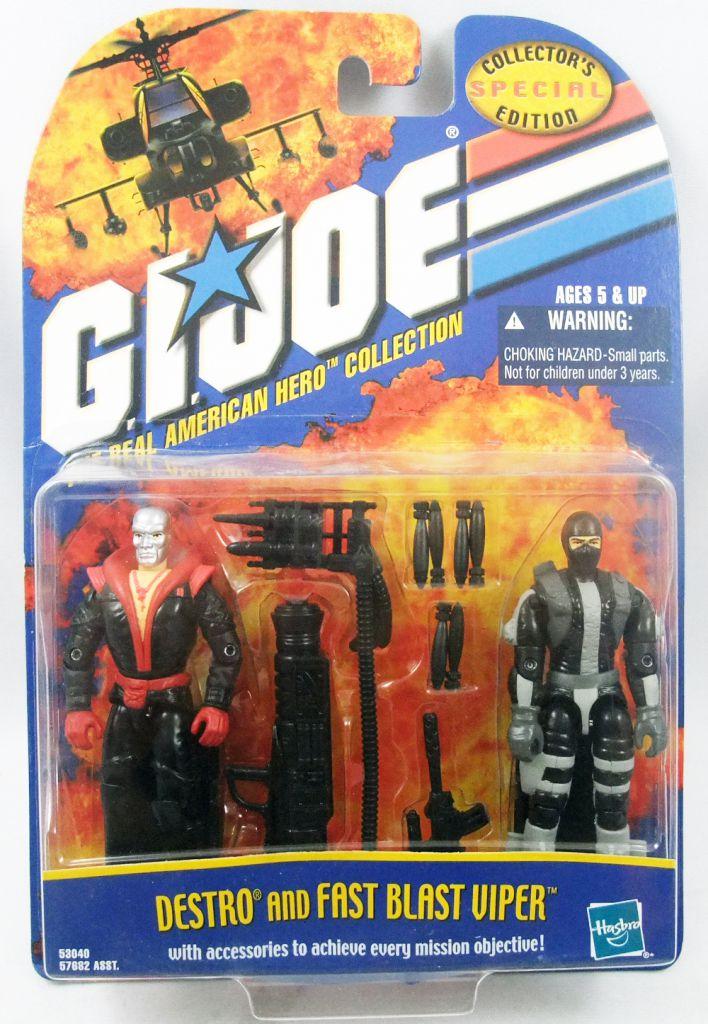 G.I.JOE - 2001 - Destro & Fast Blast Viper