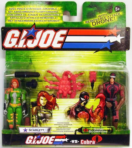 G.I.JOE - 2003 - Scarlett & Sand Scorpion