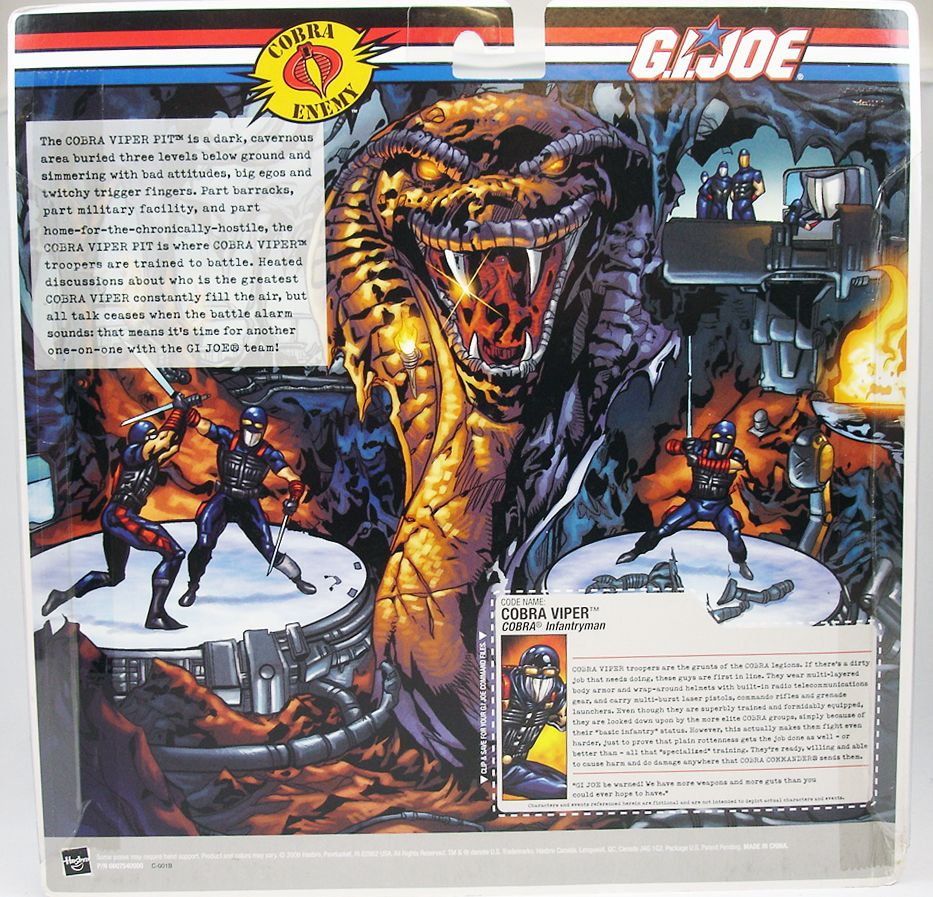 G.I.JOE - 2006 - Cobra Viper Pit (1)