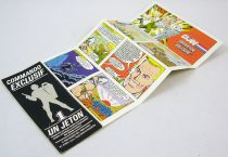 "G.I.Joe - Catalogue dépliant Hasbro France 1989 \""Opération Solitaire\"""