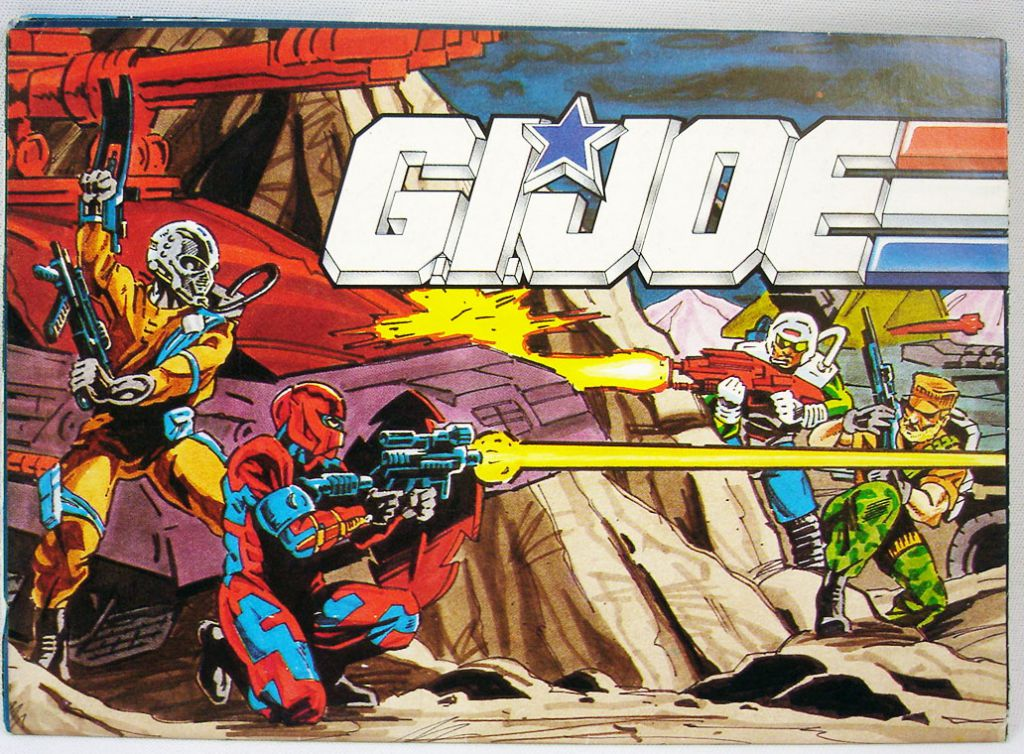 G.I.Joe - Catalogue dépliant Hasbro France 1991