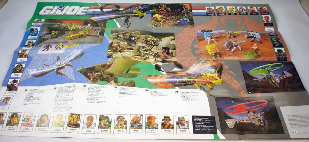 G.I.Joe - Catalogue dépliant Hasbro France 1992