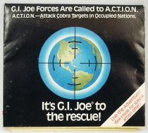 "G.I.Joe - Catalogue dépliant Hasbro USA 1987 ""Operation A.C.T.I.O.N.\"""