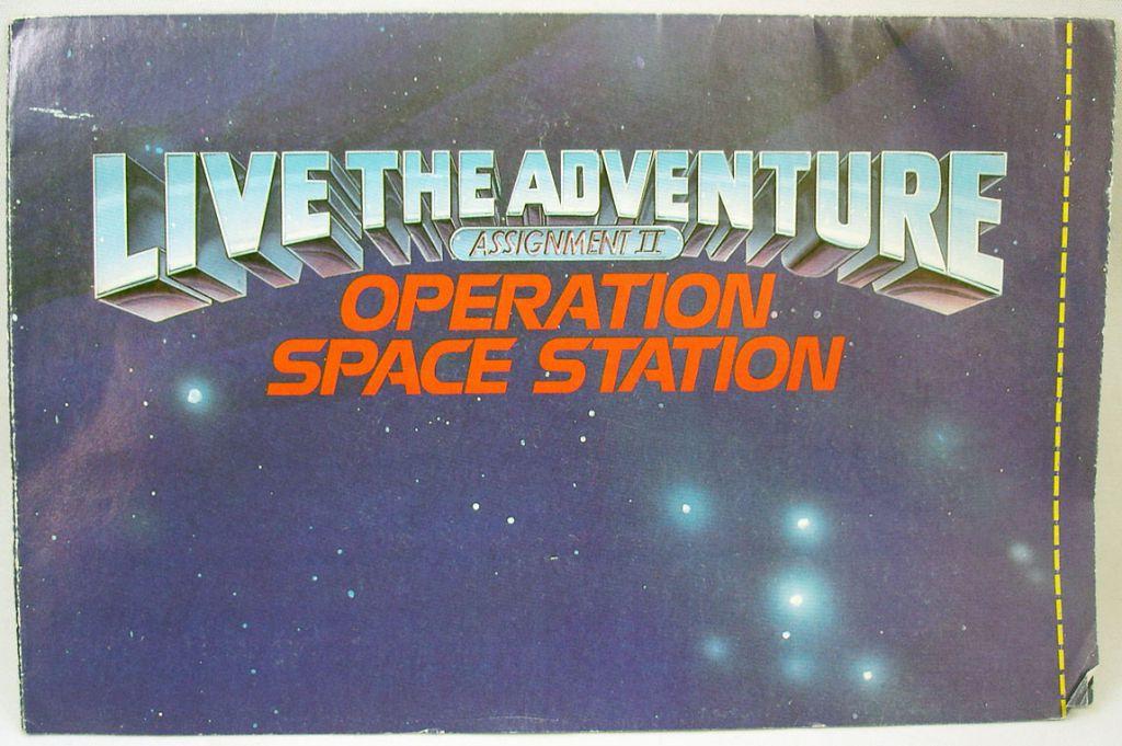 "G.I.Joe - Catalogue dépliant Hasbro USA 1988 \""Operation Space Station\"""