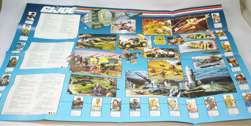 G.I.Joe - Hasbro France 1991 catalog insert