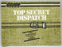 "G.I.Joe - Hasbro USA 1985 catalog insert \""Top Secret Dispatch\"""