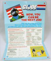 "G.I.Joe - Hasbro USA 1988 insert \""Steel Brigade\"""