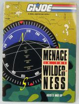 "G.I.Joe - Hasbro USA 1993 catalog insert \""Menace in the Wilderness\"""