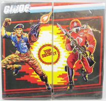 G.I.Joe - Mail Set : Flint & Crimson Guard - Hasbro France 1986