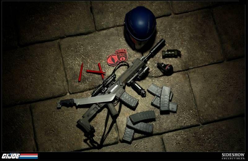 G.I.JOE - Sideshow Collectibles - Figurine 30cm Cobra Viper