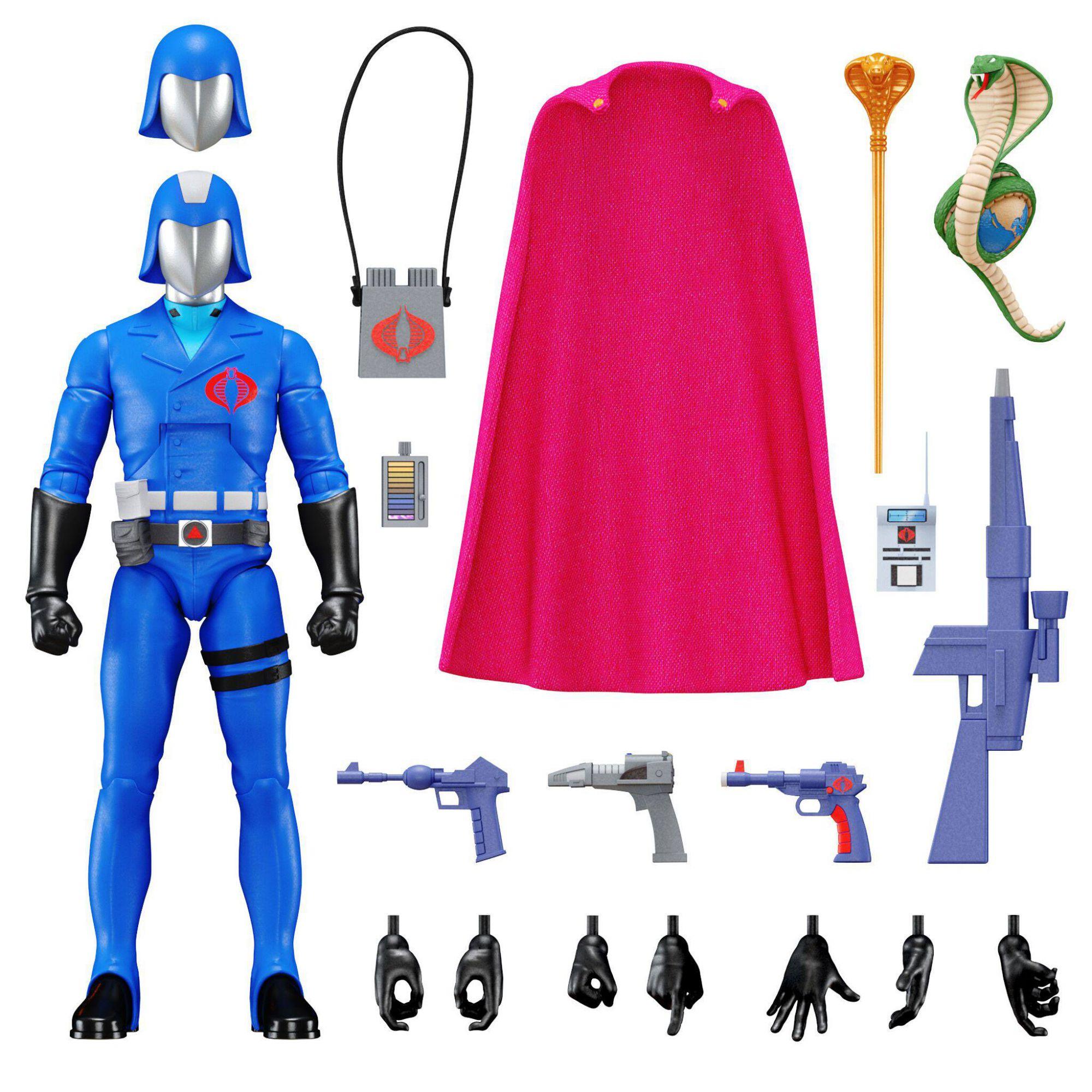 G.I.JOE - Super7 - Figurine 17cm Ultimates  - Cobra Commander