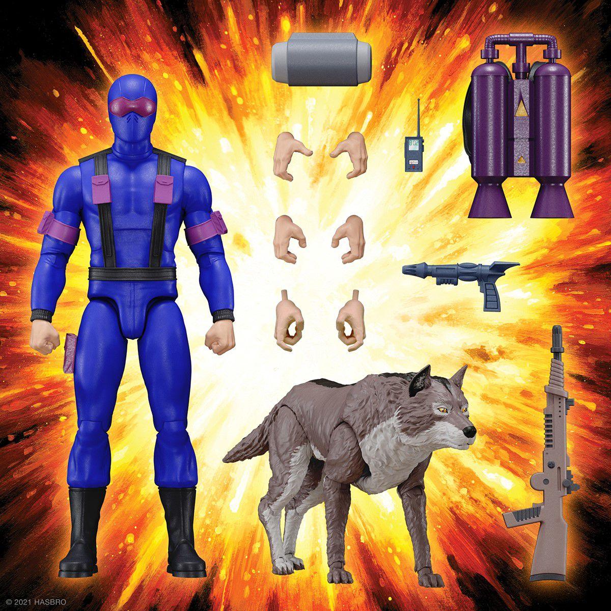 G.I.JOE - Super7 - Figurine 17cm Ultimates  - Snake Eyes