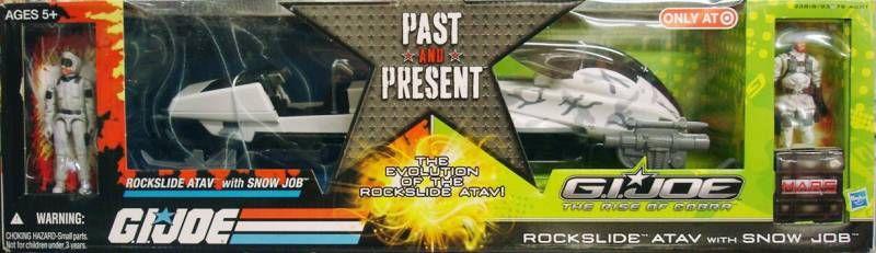 G.I.JOE 2009 - \\\'\\\'Pas and Present\\\'\\\' Rockslide ATAV & Snow Job