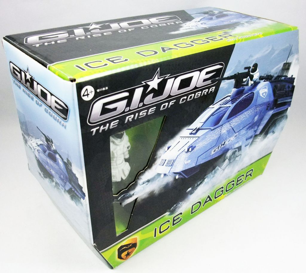 G.I.JOE 2009 - Ice Dagger & Frostbite